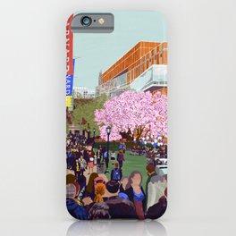 Spring at Barnard College | Barnard Seasons Series iPhone Case
