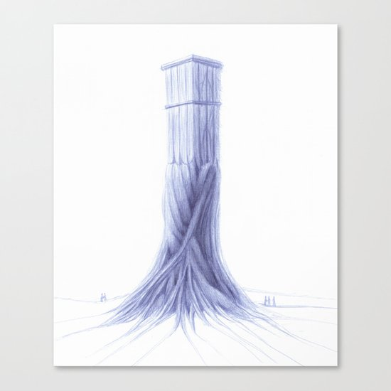 The Tower  Canvas Print