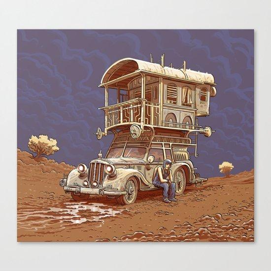 Auto-Stop Canvas Print