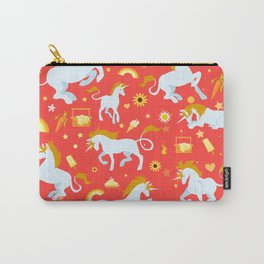 Unicorn fire Carry-All Pouch