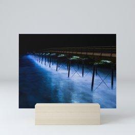 Electric Blue Mini Art Print