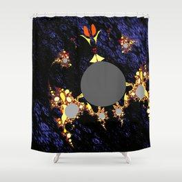 foreign moon walker Shower Curtain