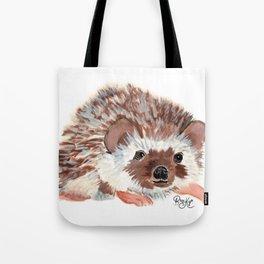 Hedgehog named Harriet Tote Bag