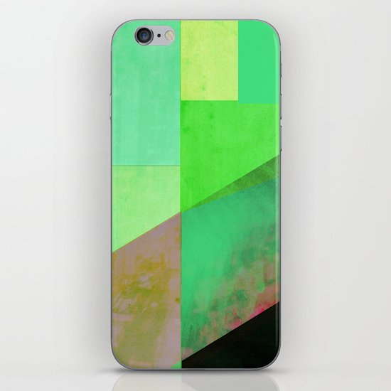 Green City Abstract iPhone & iPod Skin