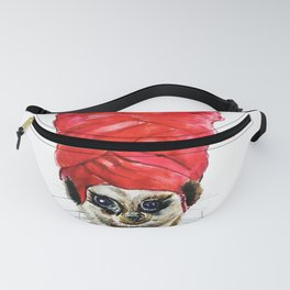 Red Turban Fanny Pack