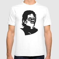 Michael Jackson's Thriller for Halloween MEDIUM White Mens Fitted Tee