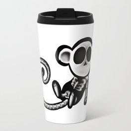 Skeleton monkey Travel Mug