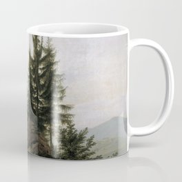 Caspar David Friedrich - View of the Elbe Valley Coffee Mug
