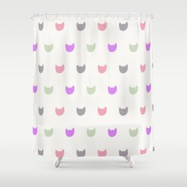 cats (5) Shower Curtain