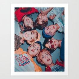 BTS - Bangtan Boys Art Print