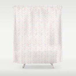 Arrows 2: Multi-color Shower Curtain