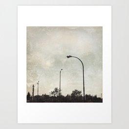 Urbania Four Art Print