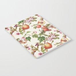 botanical fruits Notebook