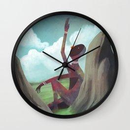 AQUEL QUE MIRA LAS NUBES Wall Clock