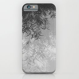 Willow (Gray) iPhone Case