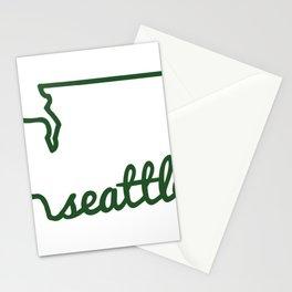 Seattle Washington PNW Stationery Cards