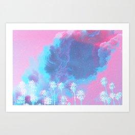 SUMMER WAVES II Art Print