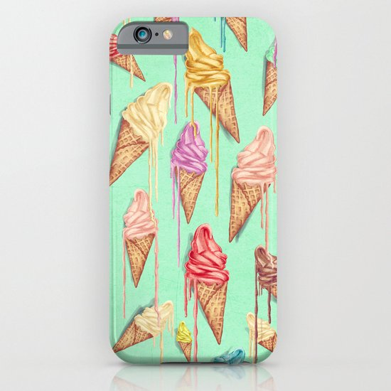 melted ice creams iPhone & iPod Case