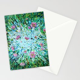 Cosmos Against the Sky   Stationery Cards