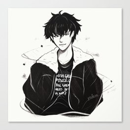Nico Di Angelo - 'With great power, comes the great need to take a nap.' Canvas Print