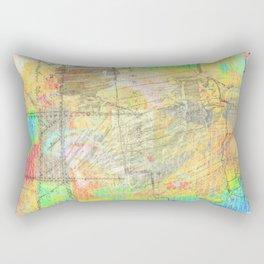 Under-painting, Long Ago Rectangular Pillow