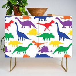 Dinosaurs - White Credenza