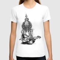 ali gulec T-shirts featuring Ali Jamma by PRESTOONS / Art by Dennis Preston