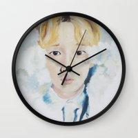 key Wall Clocks featuring Key  by Mika Codner