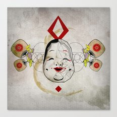 J_mask Canvas Print
