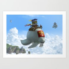 The Ferry Art Print