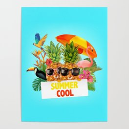 Summer Cool Poster