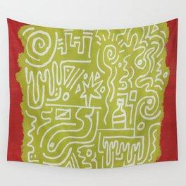 Swipe Wall Tapestry