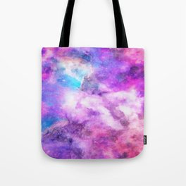 Mystical Nebulous Galaxy Tote Bag