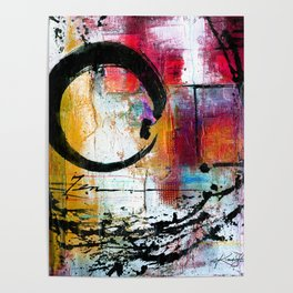 Enso Abstraction No. mm15 Poster