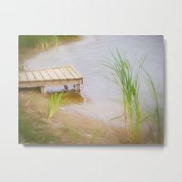 Lazy Sundays Metal Print