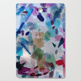 Color Flakes Cutting Board