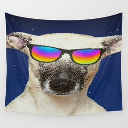 Cool dog Wall Tapestry