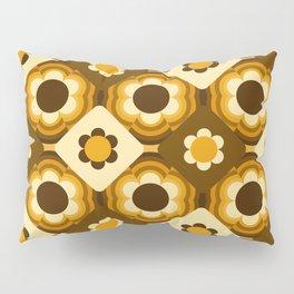 Daisy Patchwork Pillow Sham