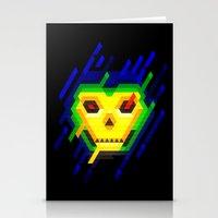skeletor Stationery Cards featuring Skeletor by jaeTanaka