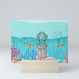 WATER DOG Mini Art Print