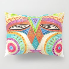 let's fly and reach the sky mask Pillow Sham