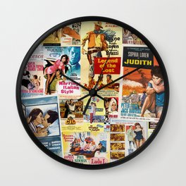 Sophia Loren 2 Wall Clock