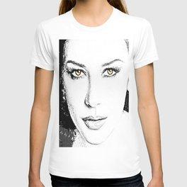 Face- Catherine Zeta Jones T-shirt
