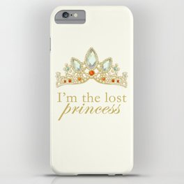 The Lost Princess iPhone Case