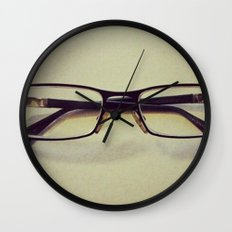 Glasses Wall Clock