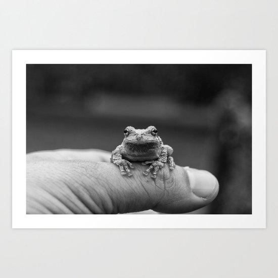 The Little Guy Art Print
