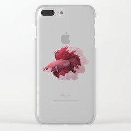 Rose Beta Clear iPhone Case