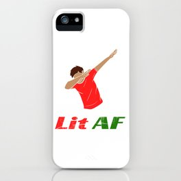 Looking for a trendy and in tee design? We got your back! Here's the perfect tee for you! Nice gift! iPhone Case