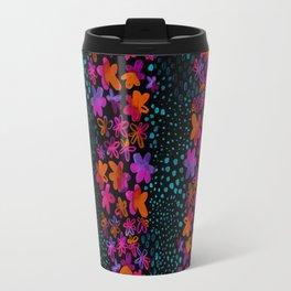 Dark Watercolor Travel Mug