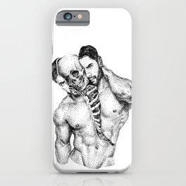 Split Spooky NOODDOOD iPhone Case